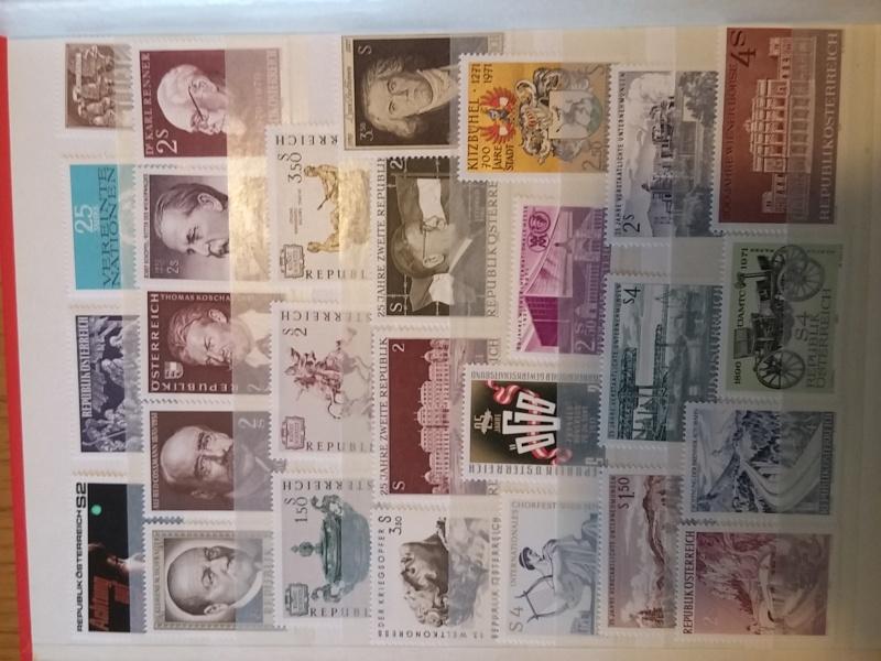Briefmarkensammlung Östereich 20160619