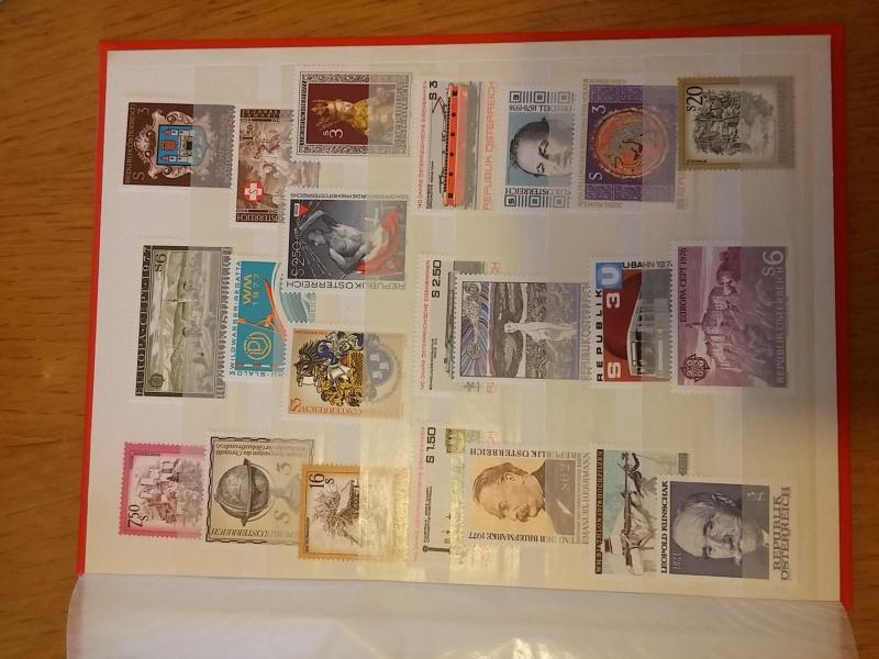 Briefmarkensammlung Östereich 20160620