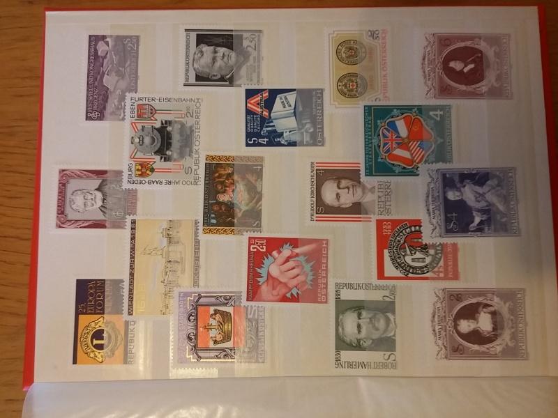 Briefmarkensammlung Östereich 20160621