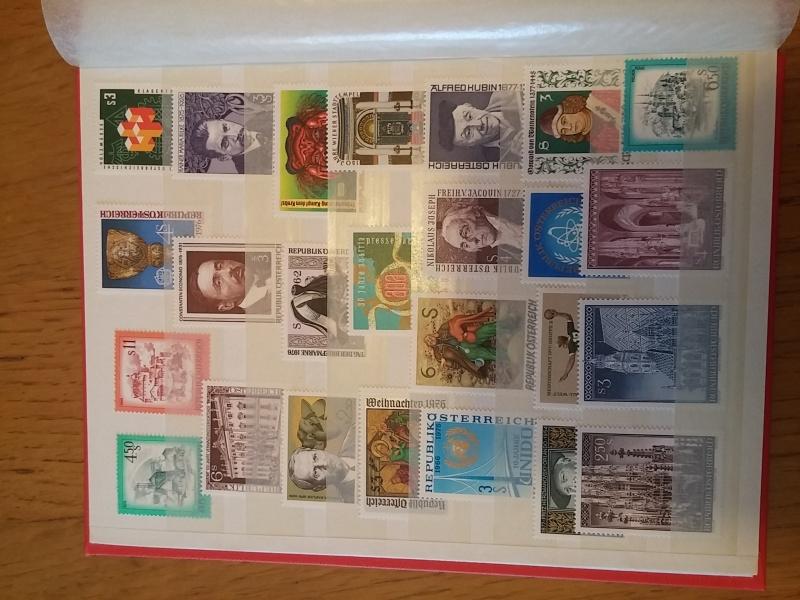 Briefmarkensammlung Östereich 20160622