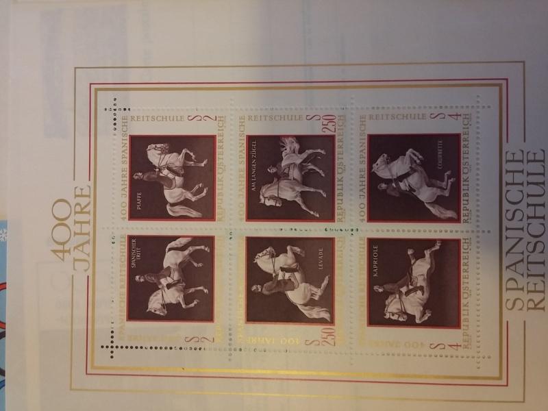 Briefmarkensammlung Östereich 20160623