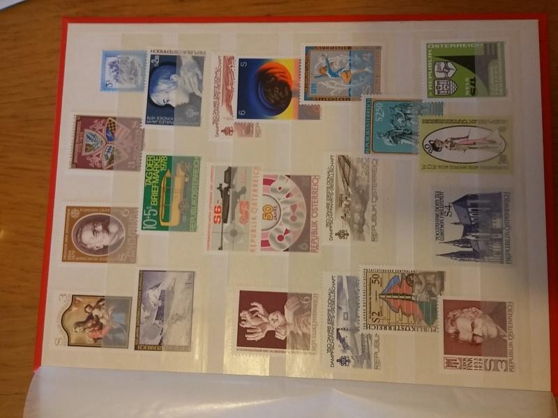Briefmarkensammlung Östereich 20160624
