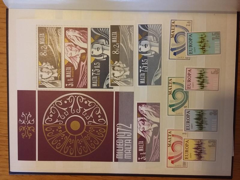 Briefmarkensammlung aus Malta 20160626