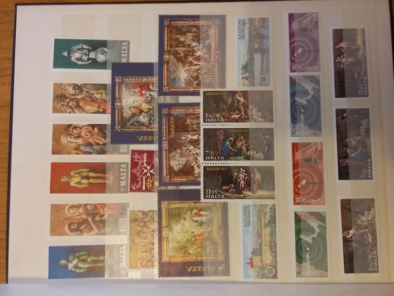 Briefmarkensammlung aus Malta 20160627