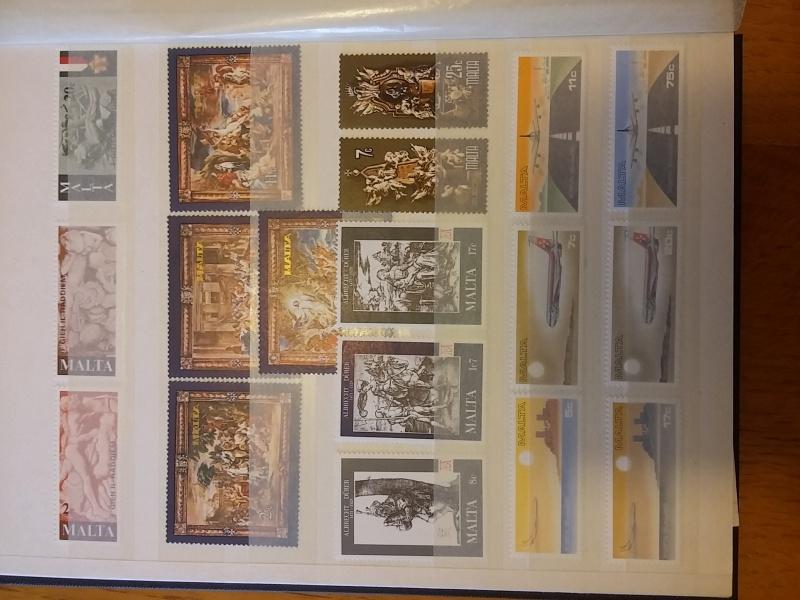 Briefmarkensammlung aus Malta 20160628