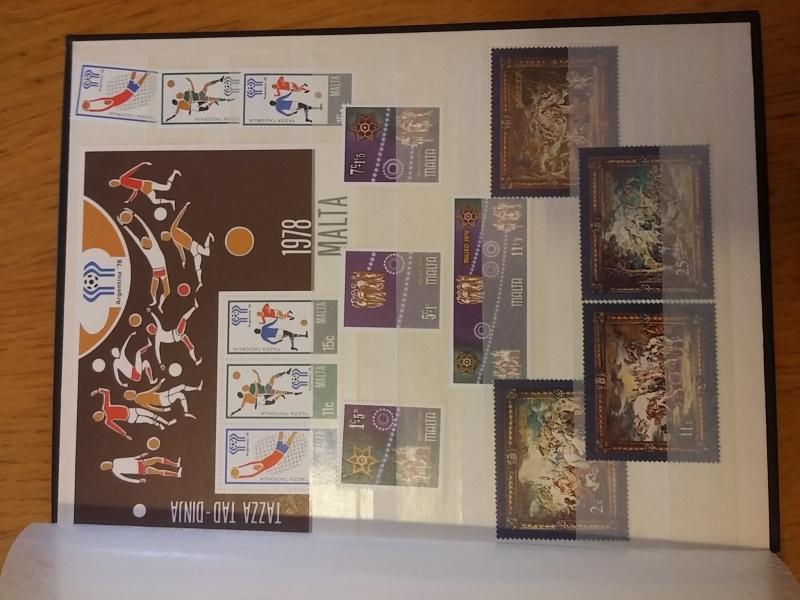Briefmarkensammlung aus Malta 20160629