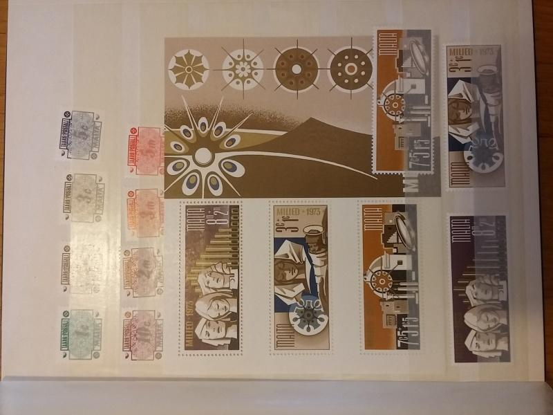 Briefmarkensammlung aus Malta 20160630