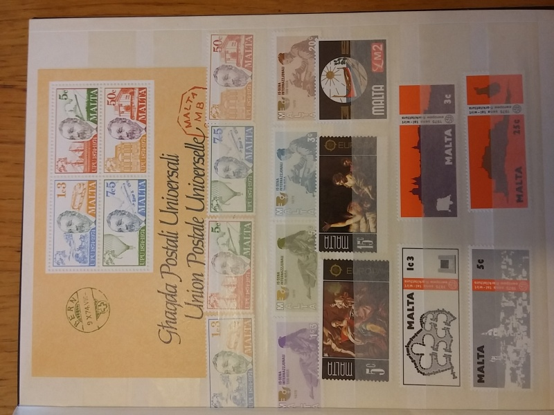 Briefmarkensammlung aus Malta 20160635