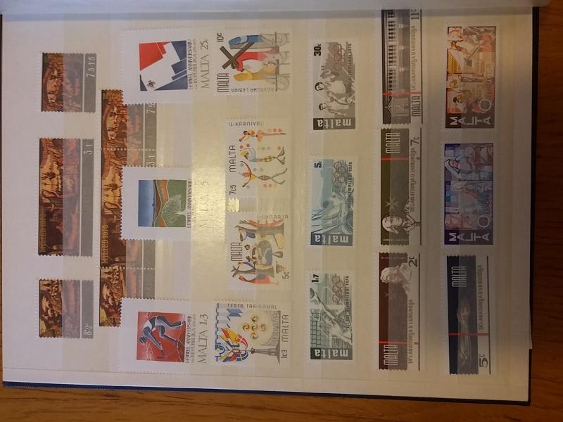 Briefmarkensammlung aus Malta 20160636