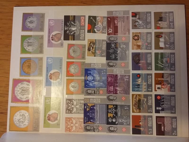 Briefmarkensammlung aus Malta 20160637