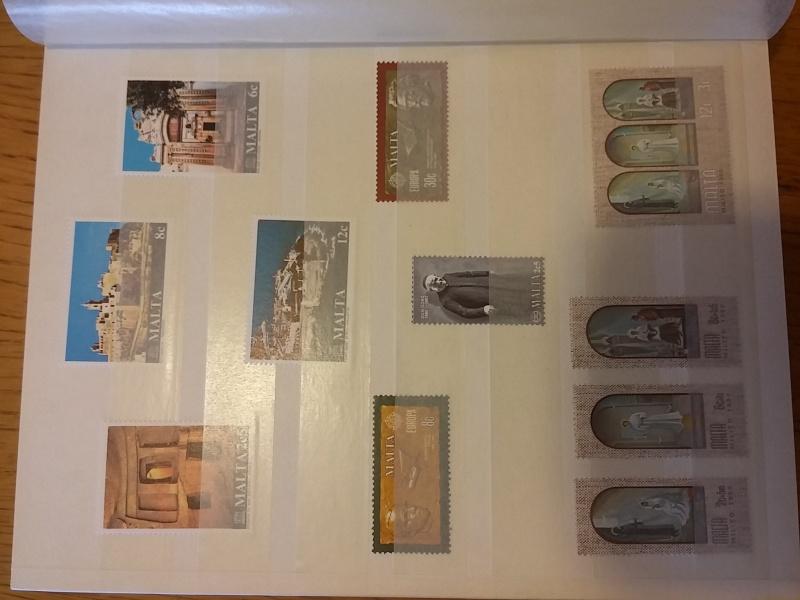 Briefmarkensammlung aus Malta 20160639