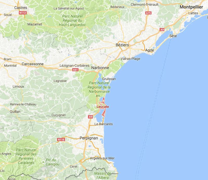 Bornes dans l'Aude - Page 3 Leucat10