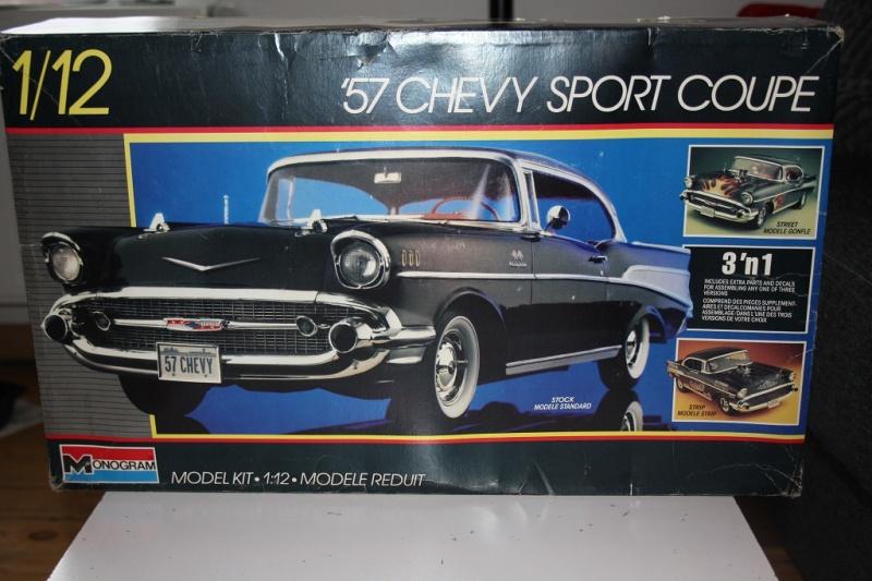 CHEVROLET  1957 sport coupé  REVELL 1/12 Img_5320