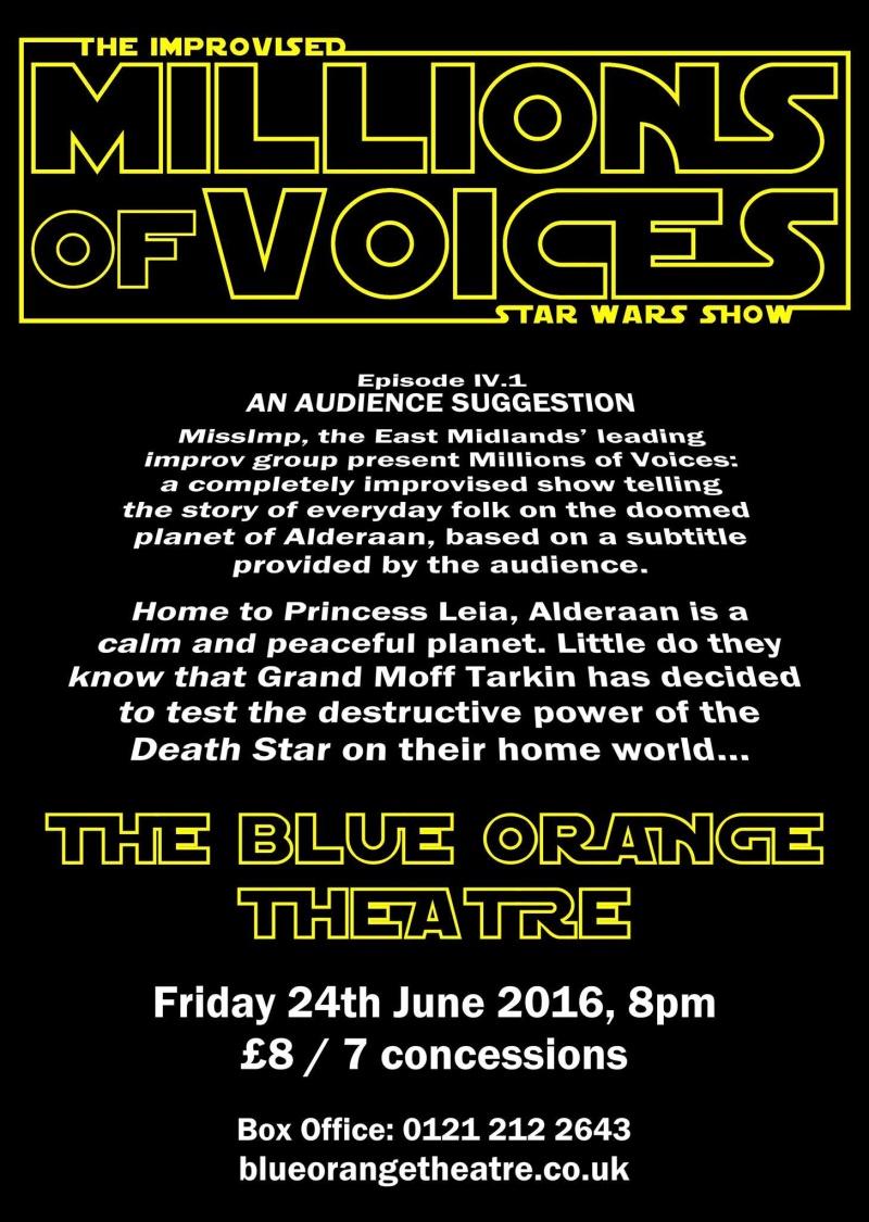 Star Wars on stage - Birmingham 24 June 13224110