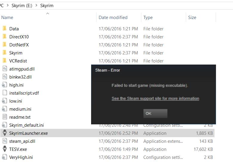 Steam Version Install? Skyrim10