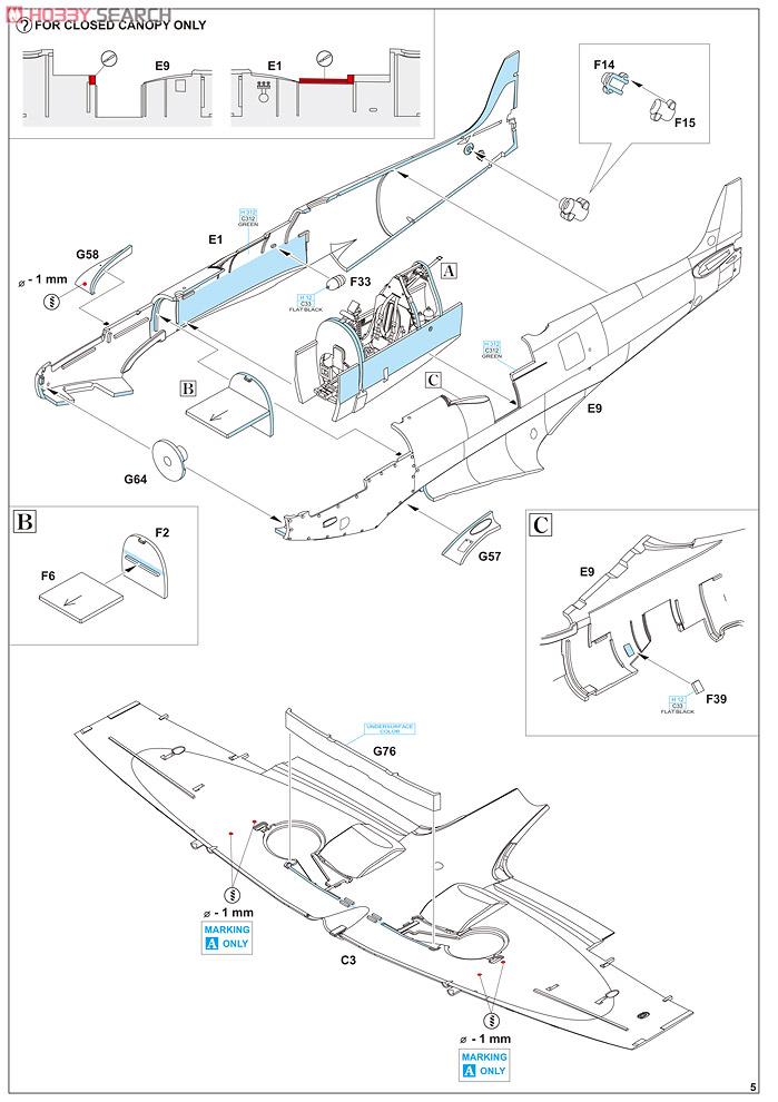 Supermirine Spitfire MK IX C 1/48 Eduard 10222219