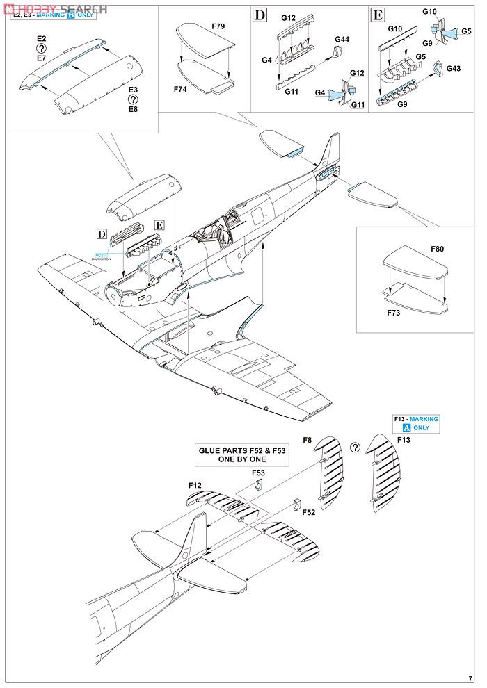 Supermirine Spitfire MK IX C 1/48 Eduard 10222221
