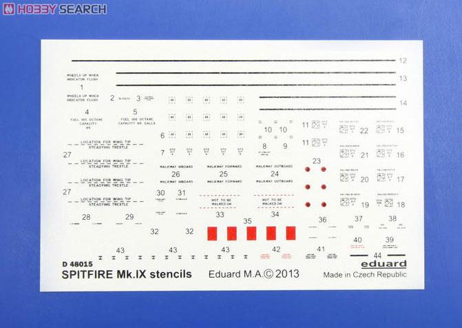 Supermirine Spitfire MK IX C 1/48 Eduard 10222227