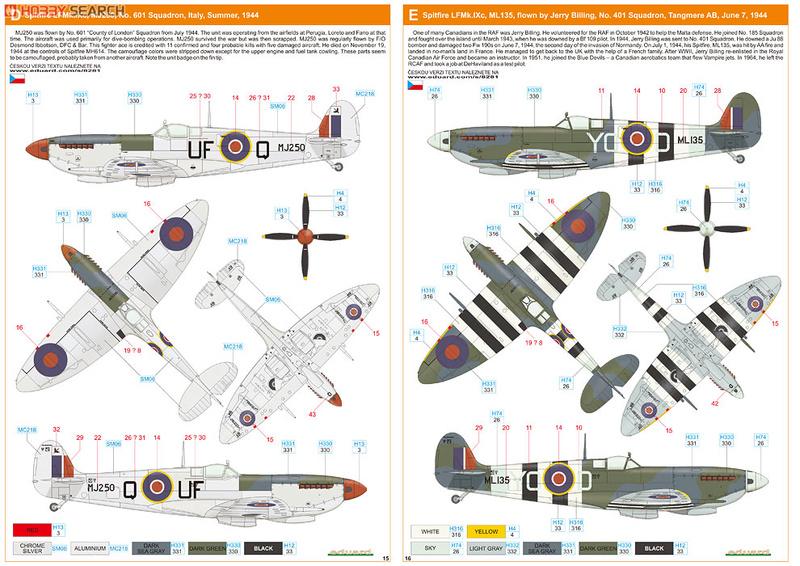 Supermirine Spitfire MK IX C 1/48 Eduard 10222229