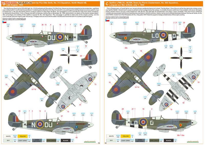 Supermirine Spitfire MK IX C 1/48 Eduard 10222231