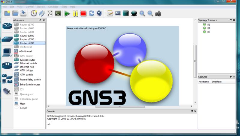 Les images IOS de GNS3 3_gns310