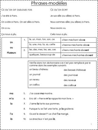 Comment faire pour que nos élèves écrivent sans erreur. - Page 2 Phrase10