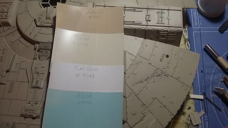 LrdSatyr's DeAgostini Millenium Falcon Diorama Build - Page 4 12932811