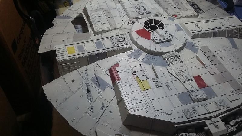 LrdSatyr's DeAgostini Millenium Falcon Diorama Build - Page 8 Botpan12
