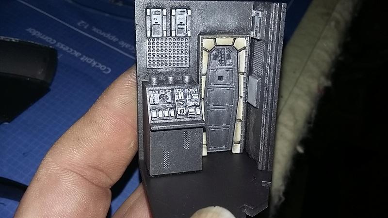 LrdSatyr's DeAgostini Millenium Falcon Diorama Build - Page 7 Erwall13