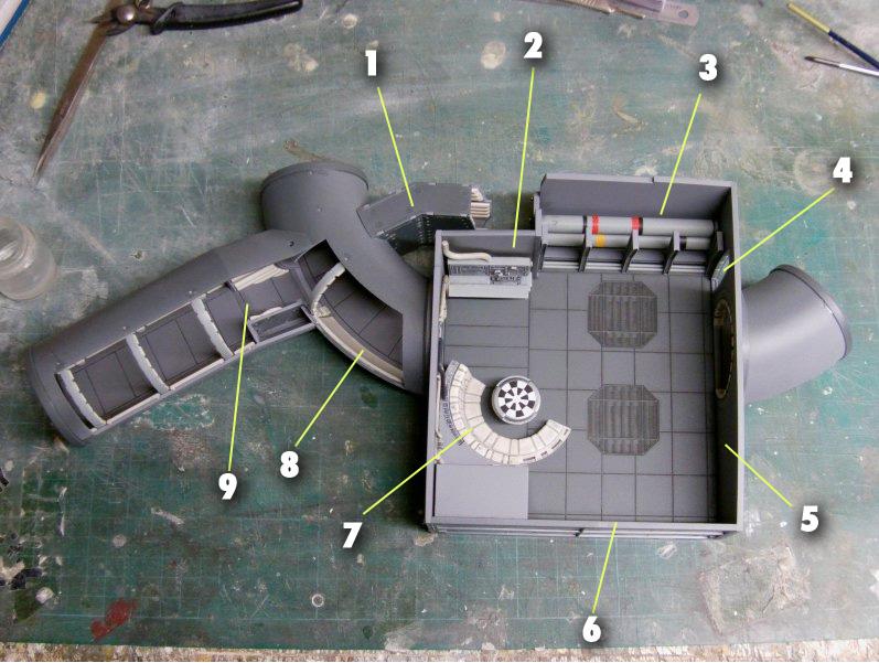 LrdSatyr's DeAgostini Millenium Falcon Diorama Build - Page 6 Idmap10