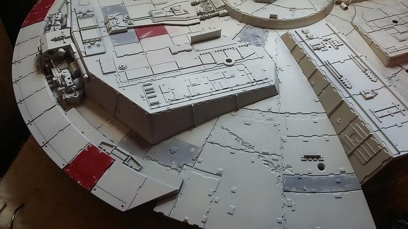 LrdSatyr's DeAgostini Millenium Falcon Diorama Build - Page 8 Panelw14