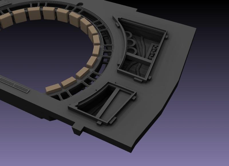 LrdSatyr's DeAgostini Millenium Falcon Diorama Build - Page 6 Sbwall10
