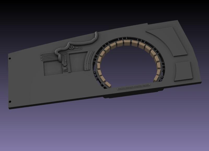 LrdSatyr's DeAgostini Millenium Falcon Diorama Build - Page 6 Sbwall11