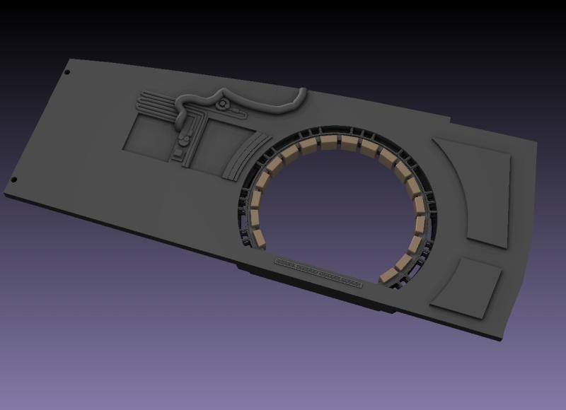 LrdSatyr's DeAgostini Millenium Falcon Diorama Build - Page 6 Sbwall12