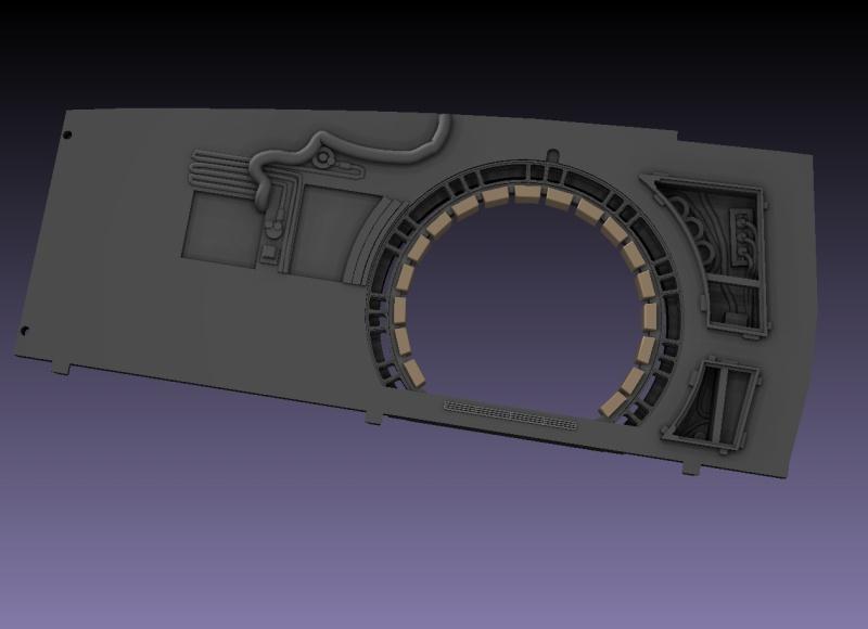 LrdSatyr's DeAgostini Millenium Falcon Diorama Build - Page 6 Sbwall13