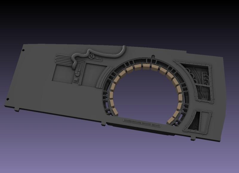 LrdSatyr's DeAgostini Millenium Falcon Diorama Build - Page 6 Sbwall14