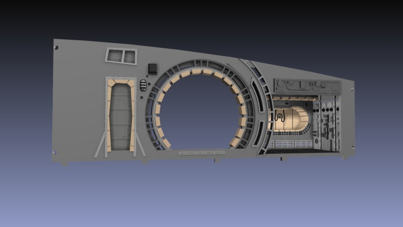 LrdSatyr's DeAgostini Millenium Falcon Diorama Build - Page 6 Tfadon10