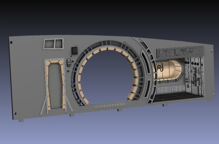 LrdSatyr's DeAgostini Millenium Falcon Diorama Build - Page 6 Tfadon11