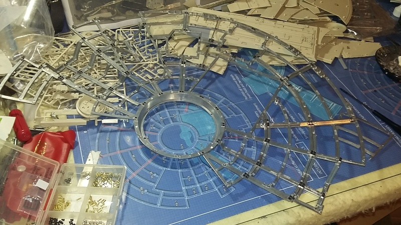 LrdSatyr's DeAgostini Millenium Falcon Diorama Build - Page 7 Upfram10