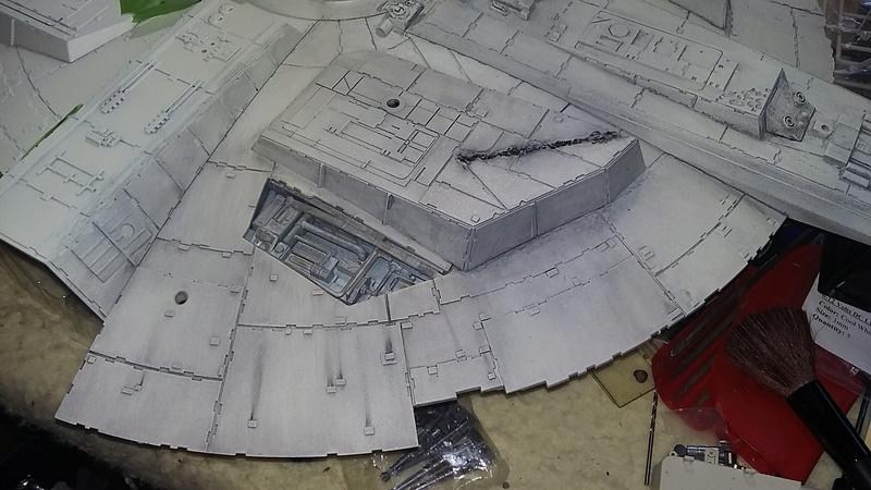 LrdSatyr's DeAgostini Millenium Falcon Diorama Build - Page 8 Weathe11