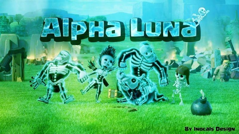 Alpha Luna Clash Royale