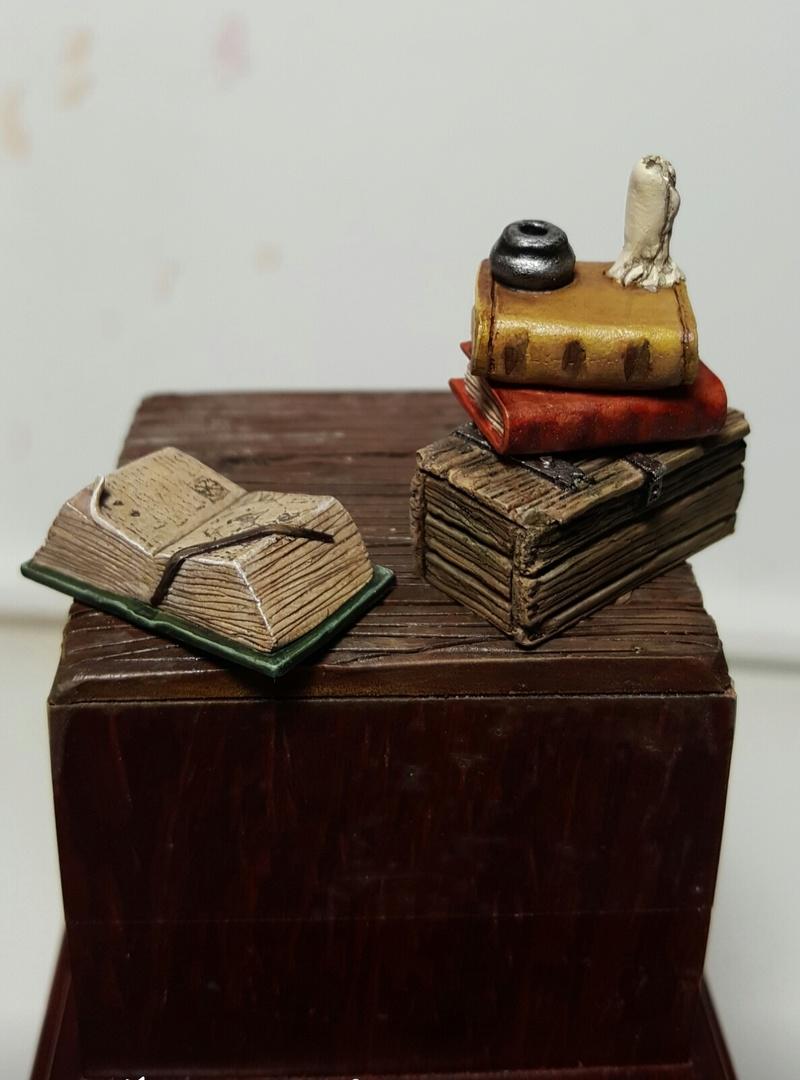 Ma première figurine à  l'huile  Screen43