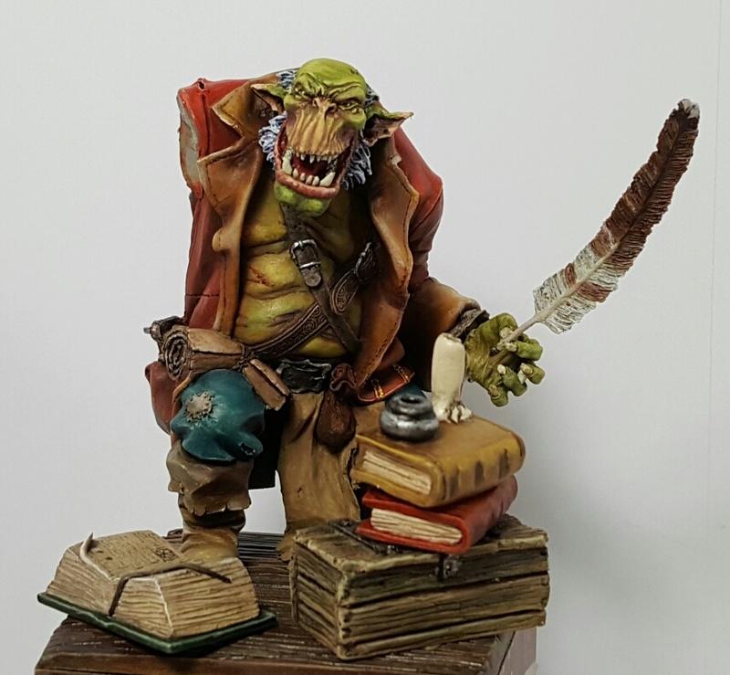 Ma première figurine à  l'huile  Screen47