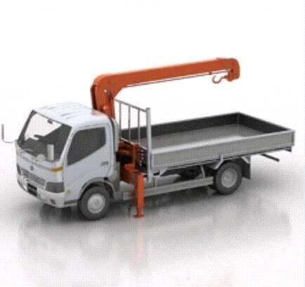 [Modelo] Caminhão com guindaste (por Antonio Giles) 13512210