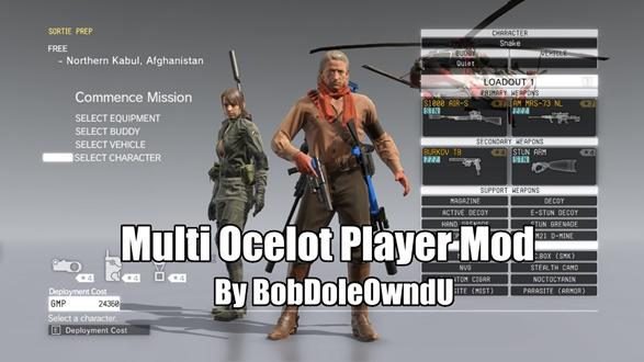 Multi Ocelot Player Mod v1.0 00000014