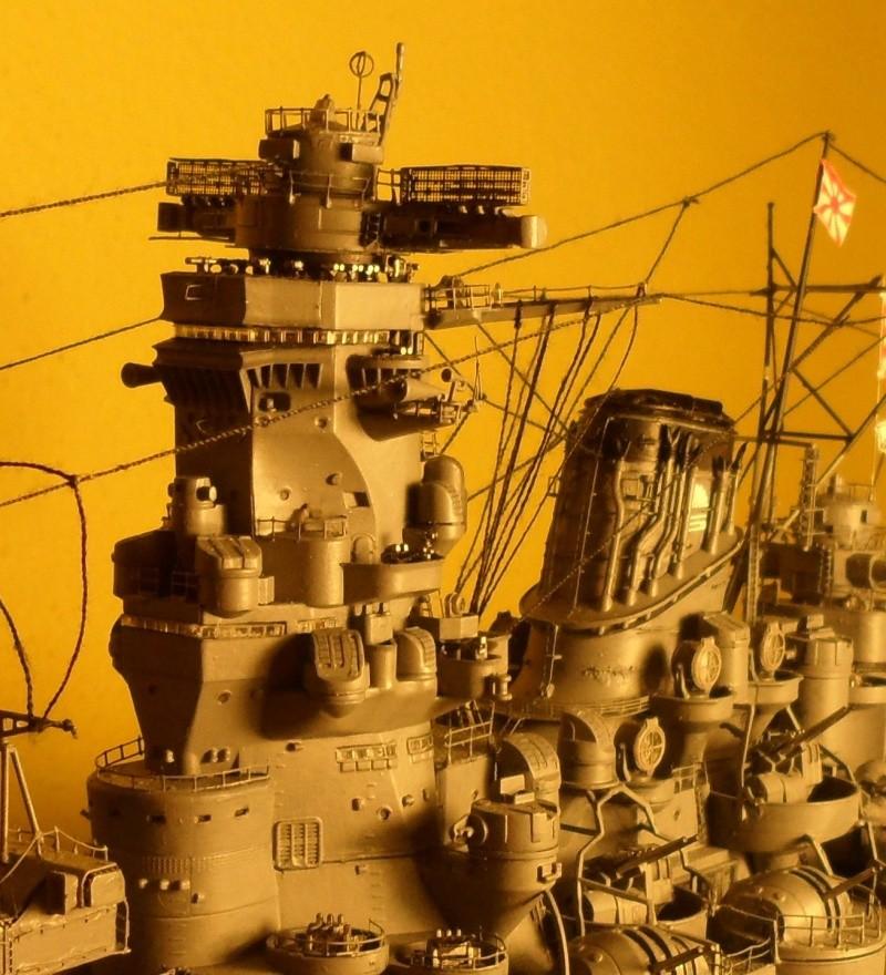 Cuirassé Yamato Tamiya 1/350 Sam_0611