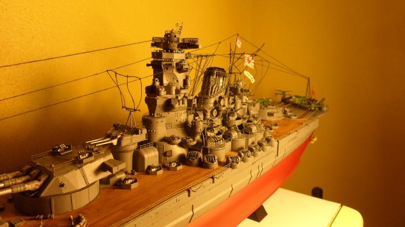 Cuirassé Yamato Tamiya 1/350 Sam_0612