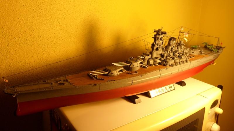 Cuirassé Yamato Tamiya 1/350 Sam_0613