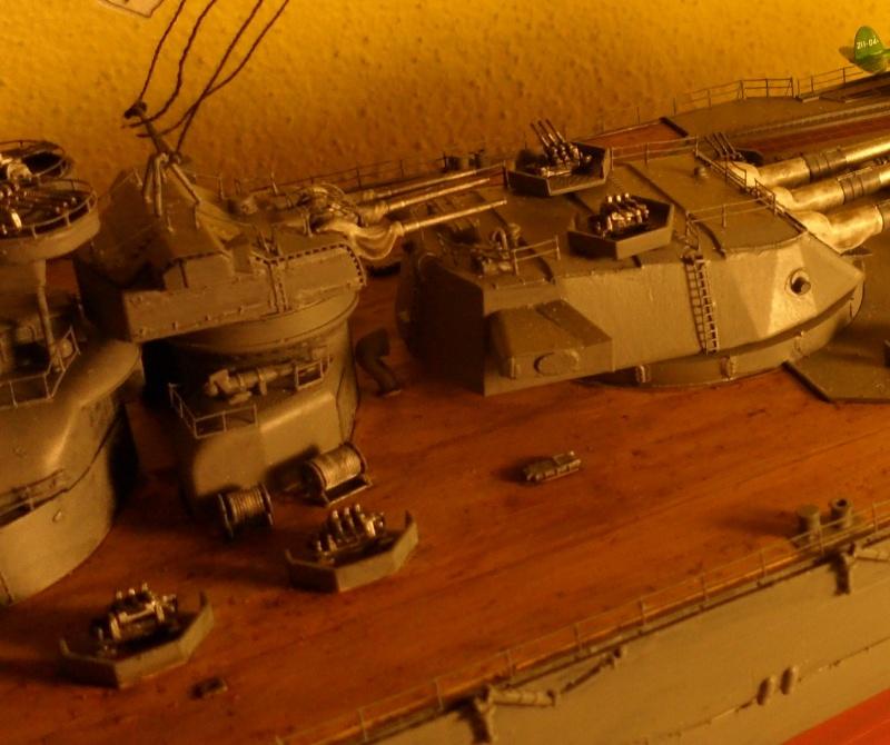 Cuirassé Yamato Tamiya 1/350 Sam_0710