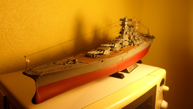 Cuirassé Yamato Tamiya 1/350 Sam_0713